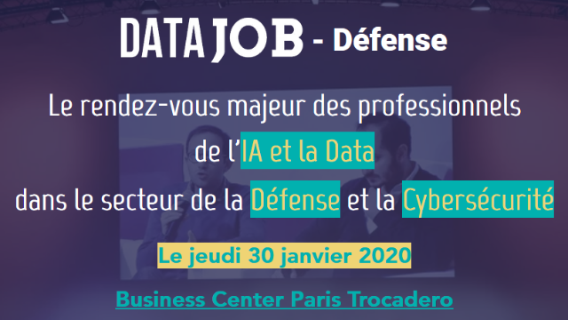 Salon Recrutement - Datajob Défense 2020